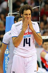 ALESSANDRO FEI.ITALIA - SERBIA.PALLAVOLO TORNEO QUALIFICAZIONE OLIMPICA VOLLEY 2012.SOFIA (BULGARIA) 12-05-2012.FOTO GALBIATI - RUBIN