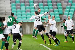Vasiljevic of NK Rudar during football match between NK Olimpija Ljubljana and NK Rudar in Round #23 of Prva Liga Telekom Slovenije 2017/18, on March 14, 2018 in Arena Stozice, Ljubljana, Slovenia. Photo by Urban Urbanc / Sportida