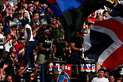 Ultra supporters cheer during the French Championship Ligue 1 football match between Paris Saint-Germain and Girondins de Bordeaux on September 30, 2017 at the Parc des Princes stadium in Paris, France - Photo Benjamin Cremel / ProSportsImages / DPPI