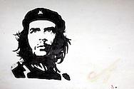 Image of Ernesto Che Guevara in Tacajo, Holguin, Cuba.