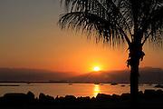 The sunrise at the La Cruz marina in Nayarit Mexico.
