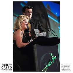 Julie Christie;Oliver Driver at the Spada Conference 06 at the Hyatt Regency Hotel, Auckland, New Zealand.<br />
