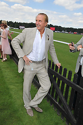 GEOFFREY KENT at the Audi International Polo Day held at Guards Polo Club, Smith's Lawn, Windsor on 22nd July 2012.