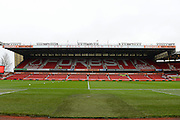 Brian Clough stand ahead of the EFL Sky Bet Championship match between Nottingham Forest and Bristol City at the City Ground, Nottingham, England on 21 January 2017. Photo by Jon Hobley.