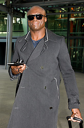 Seal arrives at Heathrow Airport from Los Angeles. Heathrow Airport, United Kingdom. Wednesday, 12th March 2014. Picture by David Dyson / i-Images