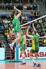 Saturday - Australia v Kazakhstan
