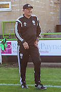 Cardiff City manager Russell Slade during the Pre-Season Friendly match between Forest Green Rovers and Cardiff City at the New Lawn, Forest Green, United Kingdom on 15 July 2015. Photo by Shane Healey.
