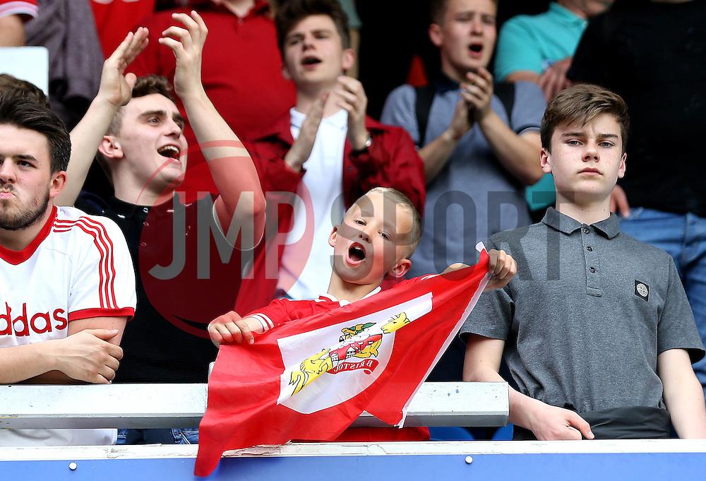 Bristol City fans - Mandatory by-line: Robbie Stephenson/JMP - 07/05/2016 - FOOTBALL - Loftus Road - London, England - Queens Park Rangers v Bristol City - Sky Bet Championship