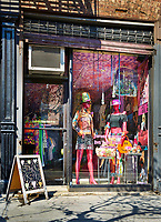 The Spark Prety shop at 333 9th St. in NYC. Photograph by John Muggenborg.