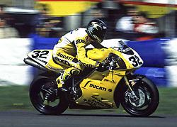 Troy Bayliss, GSE Ducati, World Superikes, Donington Park, 1998