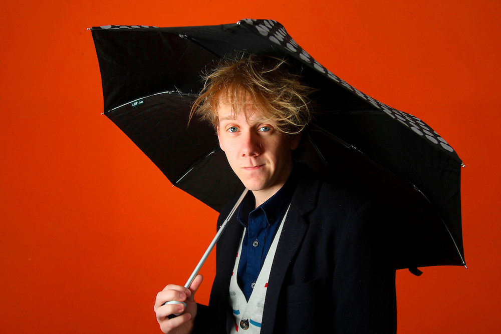 Comedian Josh Thomas - Pic By Craig Sillitoe 14/08/2010 melbourne photographers, commercial photographers, industrial photographers, corporate photographer, architectural photographers, This photograph can be used for non commercial uses with attribution. Credit: Craig Sillitoe Photography / http://www.csillitoe.com<br />