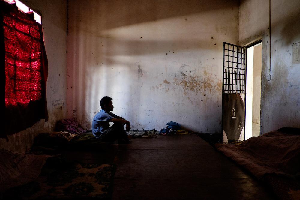 Kachin State. Laiza Rehab Center.  Dormitory number 1.