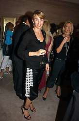 ASSIA WEBSTER at a party to celebrate the re-opening of the David Morris Flagship store at 180 New Bond Street, London on 14th June 2006.<br /><br />NON EXCLUSIVE - WORLD RIGHTS