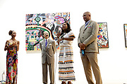 May 14, 2014- Harlem, New York-United States: (L-R) Michelle Fizer-Peterson, Member Board of Director, HSA,  Attorney Charles J. Hamilton, Jr., Board Chair, HSA,  Janice Savin Williams Vice Chair, HSA Board of Directors and Eric Pryor, President, Harlem School of the Arts attend the Harlem School of the Arts Jump and Wave Benefit held at the Harlem School of the Arts- The Herb Alpert Center on May 18, 2017 in Harlem, New York City. Harlem School of the Arts enriches the lives of young people and their families through world-class training in and exposure to the arts across multiple disciplines in an environment that emphasizes rigorous training, stimulates creativity, builds self-confidence, and adds a dimension of beauty to their lives.(Photo by Terrence Jennings/terrencejennings.com)
