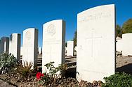 Vendresse British Cemetery, near the Chemin des Dames, Aisne, France © Rudolf Abraham