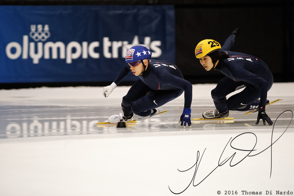 September 11, 2009 - Marquette, MI - Olympic Short Track Team Trials