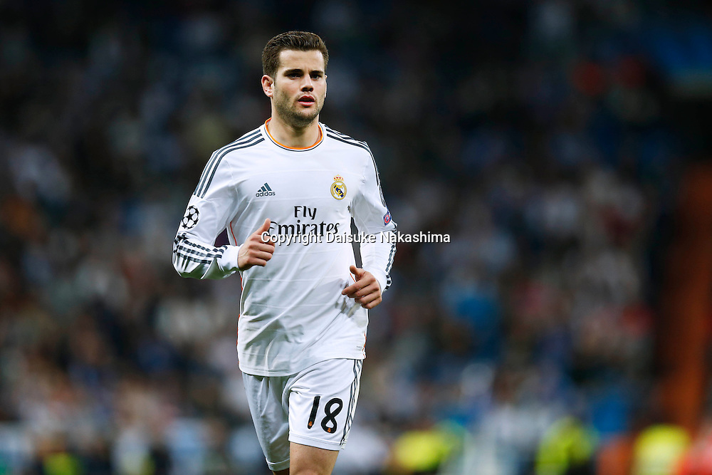 Nacho (Real), MARCH 18, 2014 - Football / Soccer : UEFA Champions League Round of 16, 2nd leg match between Real Madrid 3-1 FC Schalke 04 at Estadio Santiago Bernabeu in Madrid, Spain. (Photo by D.Nakashima/AFLO)