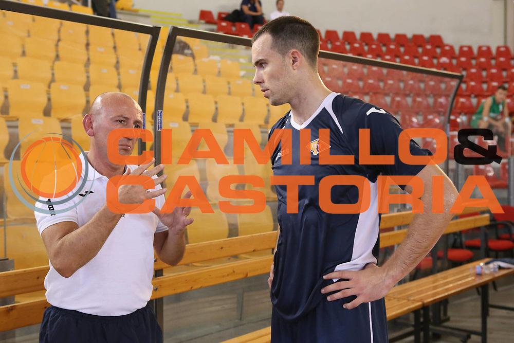 DESCRIZIONE : Roma Lega A 2013-2014 Allenamento Virtus Roma<br /> GIOCATORE : Luca Dalmonte Jimmy Baron<br /> CATEGORIA : ritratto curiosita fair play<br /> SQUADRA : Virtus Roma<br /> EVENTO : Allenamento Virtus Roma<br /> GARA : <br /> DATA : 25/09/2013<br /> SPORT : Pallacanestro <br /> AUTORE : Agenzia Ciamillo-Castoria/M.Simoni<br /> Galleria : Lega Basket A 2013-2014  <br /> Fotonotizia : Roma Lega A 2013-2014 Allenamento Virtus Roma<br /> Predefinita :