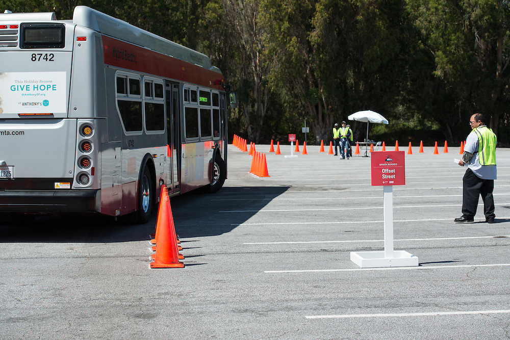 Operators Competing at the 31st SFMTA Roadeo | April 2, 2016