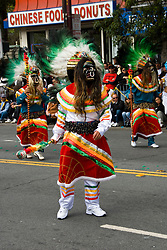 California: San Francisco Carnaval festival parade in the Mission District. Photo copyright Lee Foster. Photo # 30-casanf81344