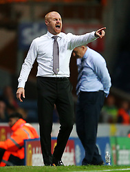 Burnley manager Sean Dyche points - Mandatory by-line: Matt McNulty/JMP - 23/08/2017 - FOOTBALL - Ewood Park - Blackburn, England - Blackburn Rovers v Burnley - Carabao Cup - Second Round