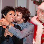 NLD/Hilversum/20151207- Sky Radio's Christmas Tree for Charity, Dyanne Beekman en Mari van de Ven