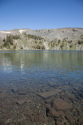 """Gilmore Lake 1"" - Photograph of Gilmore Lake in the Tahoe Desolation Wilderness."