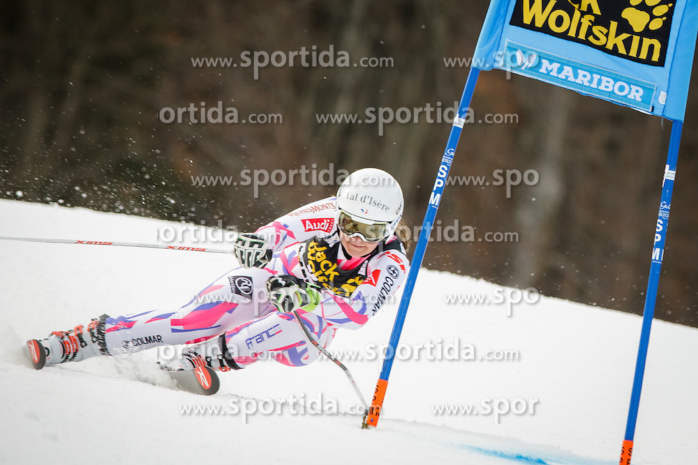 Anemone Marmottan (FRA) during 7th Ladies' Giant slalom at 52nd Golden Fox - Maribor of Audi FIS Ski World Cup 2015/16, on January 30, 2016 in Pohorje, Maribor, Slovenia. Photo by Ziga Zupan / Sportida