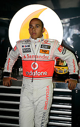 MONTE-CARLO, MONACO - Saturday, May 23, 2009: Lewis Hamilton (GBR, Vodafone McLaren Mercedes) during qualifying for the Monaco Formula One Grand Prix at the Monte-Carlo Circuit. (Pic by Juergen Tap/Hoch Zwei/Propaganda)
