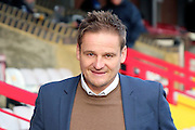 AFC Wimbledon manager Neal Ardley walking to the pitch during the EFL Sky Bet League 1 match between AFC Wimbledon and Oxford United at the Cherry Red Records Stadium, Kingston, England on 14 January 2017. Photo by Matthew Redman.