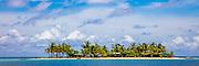 Motu, Maroa Bay, Huahine, French Polynesia