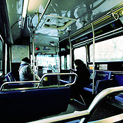Met bus, New York, United States (March 2005)