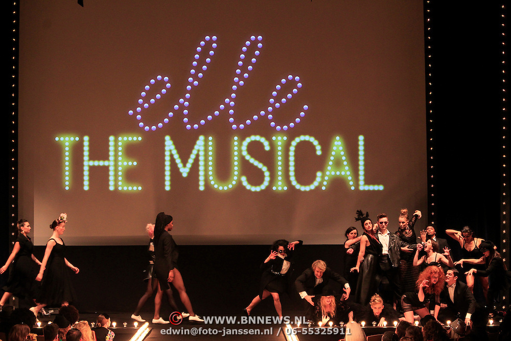 NLD/Amstrdam/20130122 - Elle Style Award  2013, Dansers Elle The Musical