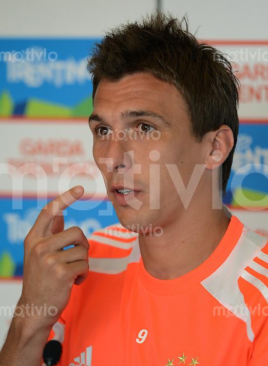 Fussball 1. Bundesliga:  Saison  Vorbereitung 2012/2013     Trainingslager des FC Bayern Muenchen 19.07.2012 Mario Mandzukic