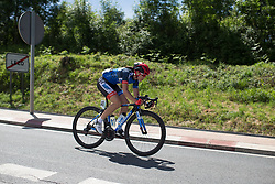 Anna Badegruber (AUT) of Team WNT descends on Stage 5 of the Emakumeen Bira - a 95.2 km road race, starting and finishing in Errenteria on May 21, 2017, in Basque Country, Spain. (Photo by Balint Hamvas/Velofocus)