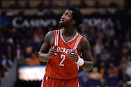 Feb 4, 2016; Phoenix, AZ, USA;  Houston Rockets guard Patrick Beverley (2) looks up in the game against the Phoenix Suns at Talking Stick Resort Arena. Mandatory Credit: Jennifer Stewart-USA TODAY Sports