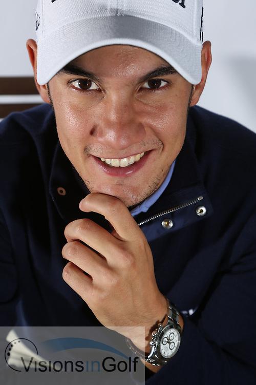 Matteo Manassero<br /> Portrait<br /> 2013<br /> <br /> Golf Pictures Credit by: Mark Newcombe / visionsingolf.com