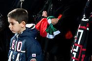 Roma 17 Marzo 2011.Festa dei 150 anni dell'Unita' d'Italia.Ricordo di Goffredo Mameli  organizzato dal Municipio Roma III con  deposizione di una corona di fiori al Monumento funebre a Mameli. Riflessioni, lettura e canti su Risorgimento e Resistenza..Rome March 17, 2011.Celebration To Mark 150th Anniversary Of Unification Italy.In memory of  Goffredo Mameli, organized by the Municipality of Rome III, deposition with a wreath at the Monument to Mameli. Reflections, reading and singing about the Risorgimento and the Resistance.
