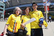 Ecuador fans - Women's World Cup Fans as the tournament comes to Vancouver<br /> <br />  - &copy; David Young - www.davidyoungphoto.co.uk - email: davidyoungphoto@gmail.com