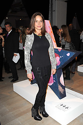 MARIE-LOUISE STOFFEL at the Polo Jeans Co. hosted Art Stars Auction in support of the Teenage Cancer Trust held at Phillips de Pury & Co, Howick Place, London on 6th December 2010.