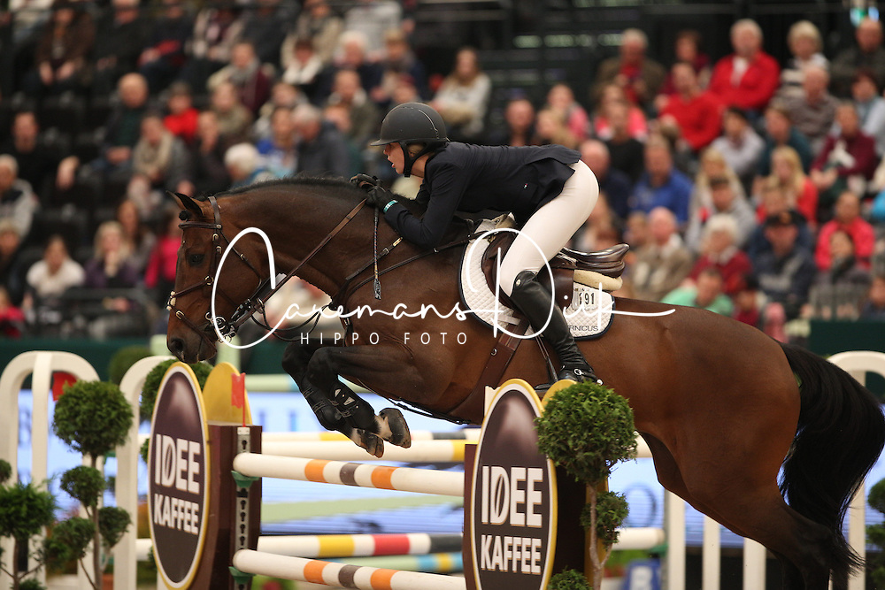 Coulter Audrey, (USA), Capital Colnardo<br /> Longines FEI World Cup<br /> CSIO Leipzig 2016<br /> &copy; Hippo Foto - Stefan Lafrentz