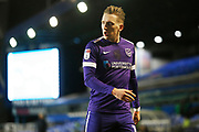 Portsmouth midfielder Ronan Curtis in action during the EFL Sky Bet League 1 match between Coventry City and Portsmouth at the Trillion Trophy Stadium, Birmingham, England on 11 February 2020.