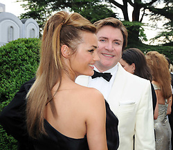 SIMON & YASMIN LE BON at the Raisa Gorbachev Foundation Party held at Stud House, Hampton Court Palace on 5th June 2010.  The night is in aid of the Raisa Gorbachev Foundation, an international fund fighting child cancer.