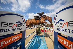SCHULZE NIEHUES Jan Andre (GER), FITCH<br /> Münster - Turnier der Sieger 2019<br /> MARKTKAUF - CUP<br /> BEMER-Riders Tour - Qualifier for the rating competition (comp no 11)  - Stechen<br /> CSI4* - Int. Jumping competition with jump-off (1.50 m) - Large Tour<br /> 03. August 2019<br /> © www.sportfotos-lafrentz.de/Stefan Lafrentz