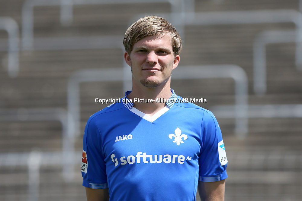 German Bundesliga, Season 2015/16, Photocall of SV Darmstadt 98 on July 30, 2015, player Florian Jungwirth
