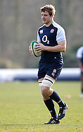 Picture by Andrew Tobin/Focus Images Ltd +44 7710 761829.08/02/2013.Joe Launchbury of England during Training at Pennyhill Park, Bagshot.