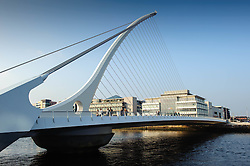 Samuel Beckett Bridge, Dublin<br /> <br /> (c) Andrew Wilson | Edinburgh Elite media