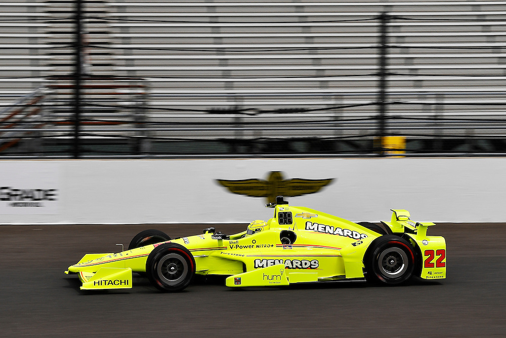 12-14 May, 2016, Indianapolis, Indiana, USA<br /> Simon Pagenaud<br /> &copy;2016, Scott R LePage <br /> LAT Photo USA