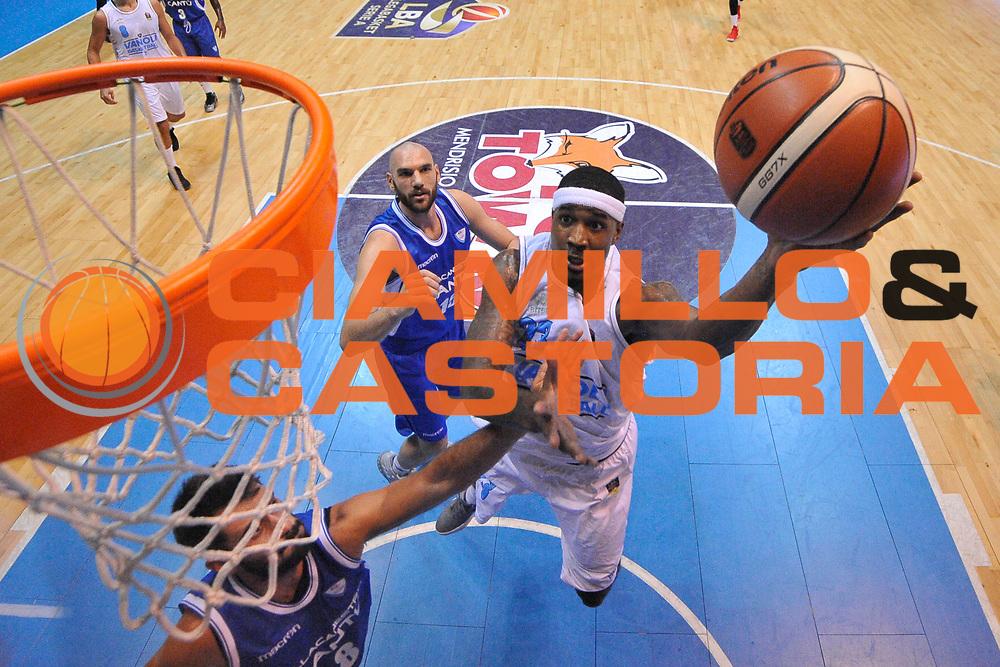 Martin Kelvin<br /> Desio, 09/09/2017<br /> Trofeo Lombardia<br /> Precampionato Lega Basket Serie A<br /> Pallacanestro Cantu' - Guerino Vanoli Cremona<br /> Foto: M.Ozbot /Ciamillo Castoria