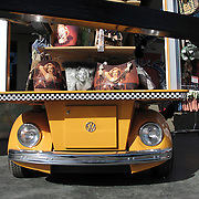 Volkswagen Beetle purse stand in Las Vegas Nevada